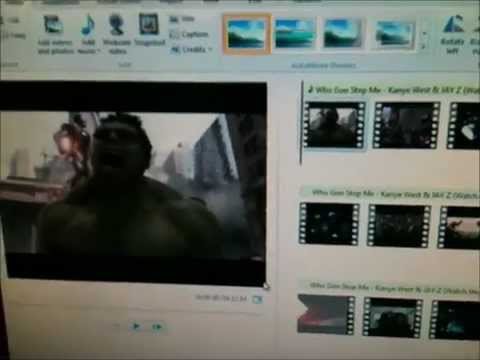 How to make a clip slow motion in Windows Live Movie Maker