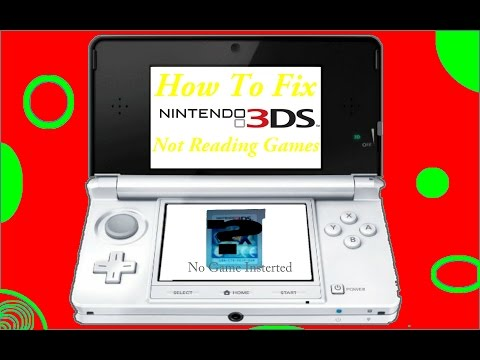 How To Fix 3DS Not Reading Games
