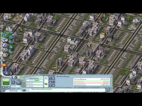 Let's Play SimCity 4 - High Wealth Explained - Tutorial (no cheat)