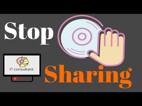 YOU DRIVE IS ALREADY SHARED . PLEASE STOP ITS