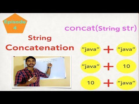 String concatenation in java with examples || string concat() method || java.lang.string