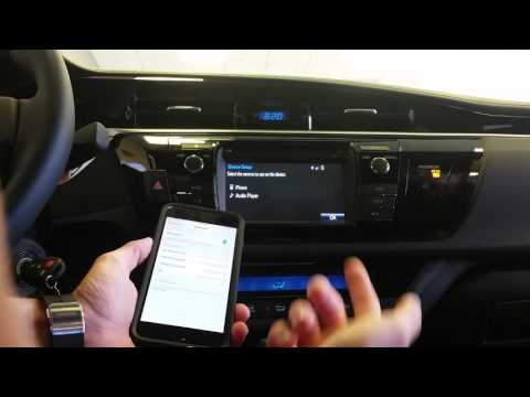 How to fix bluetooth problems with your new Toyota.