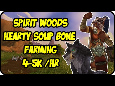 WoW Gold Farming Patch 6.2.4: Hearty Soup Bone Gold Making - Trading Post Parts Gold Farming Guide