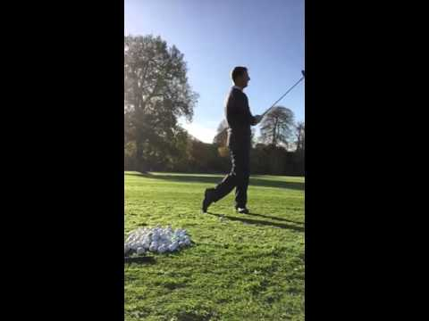 Easiest golf swing weight shift