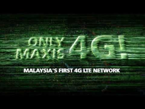 MALAYSIA'S FIRST 4G LTE NETWORK