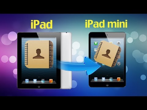 How to Transfer Contacts from iPad to iPad Mini 2/1 without iTunes by TunesGo