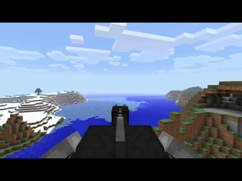 Minecraft 1.9 pre-release 4 - Riding the Enderdragon