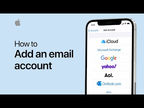 How to add an email account in Mail on your iPhone or iPad — Apple Support