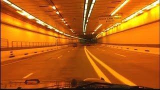 Amazing tunnel lighting