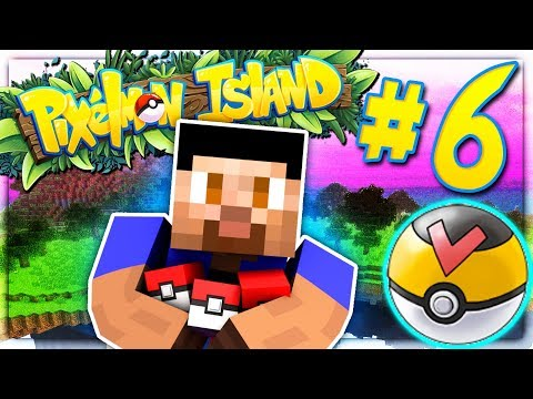 THE BEST POKEBALL?! - PIXELMON ISLAND S2 #6 (Minecraft Pokemon Mod)
