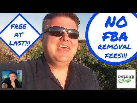 Free FBA Removal!   No Fee's To Have Products Removed OR Destroyed From Amazon 3/31/16 - 4/30/16!