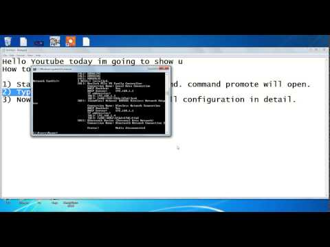 How to check pc details using CMD