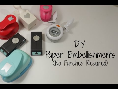 Planner Hack: How To DIY Paper Embellishments (No Punches Required)