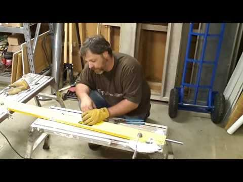 Taking a dent out of an aluminum plate level