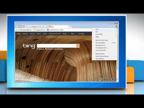 How to block or allow all cookies in Internet Explorer® 10 Preview on your Windows® 7 PC