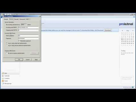How to setup Windows Live Mail to use outMail