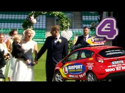 Bride Has Driving Lesson To Her Own Wedding?!! | Don't Tell the Bride Ireland