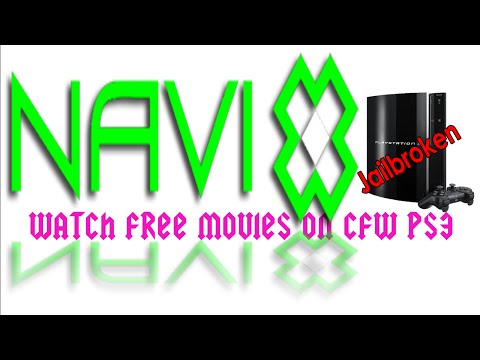 Watch Free movies/Television on CFW PS3 Nvai X & Giveaway Winners!