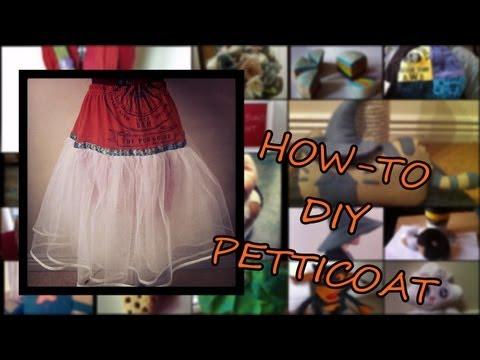 DIY Petticoat How-to
