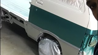 Base cost finished on mini truck