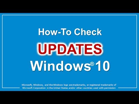 How to Check Updates in Windows 10