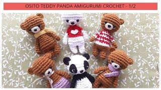 Amigurumi Crochet Osito Bear Free Pattern | Amigurumi häkeln ... | 180x320
