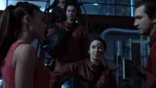 The 100 4x12 Clarke and the rest come and rescue Raven....