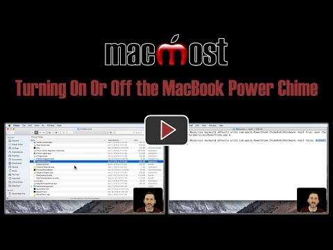 Turning On Or Off the MacBook Power Chime (#1665)