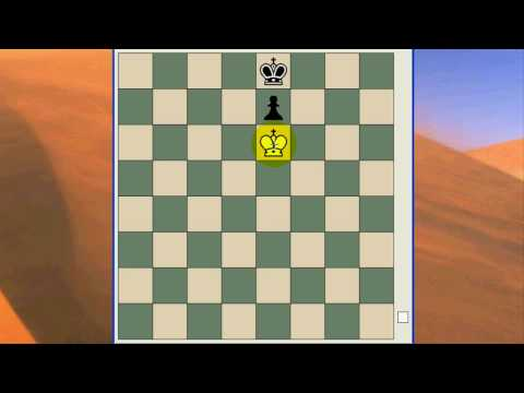 Forcing a Draw with King against King and Pawn