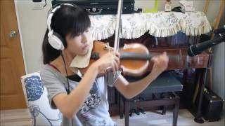 """Louis Liao-我的少女時代田馥甄""""小幸運"""" 小提琴與鋼琴"""