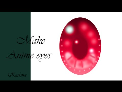 How To Make Anime Eyes In Photoshop-SpeedPaint