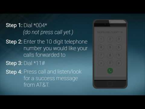 How To Set Up Conditional Call Forwarding - AT&T