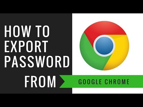 HOW TO EXPORT PASSWORDS FROM GOOGLE CHROME BROWSER?   ENABLE FEATURES IMPORT & EXPORT PASSWORD