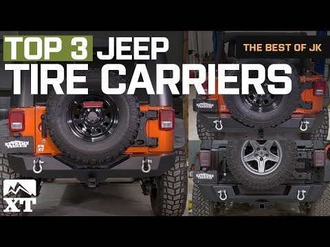 The 3 Best Jeep Wrangler Tub Mounted Tire Carriers For 2007 - 2017 JK