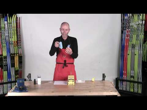 Saul's Simple Waxing System for Classic Cross Country Skis -part 2 of 4