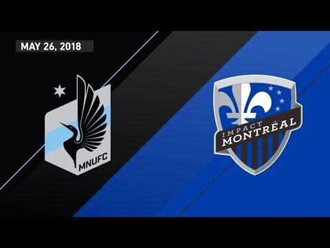 HIGHLIGHTS: Minnesota United FC vs. Montreal Impact | May 26, 2018