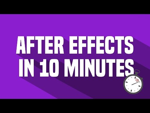 Basic Montage Effects Tutorial For Beginners [After Effects]