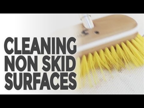 Cleaning Non Skid Surfaces