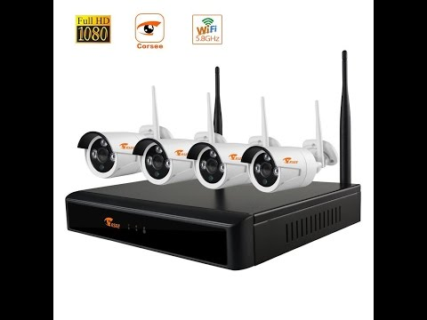 Corsee Wireless CCTV