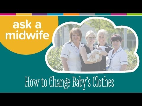 How To Change Baby's Clothes - Ask A Midwife | Kiddicare
