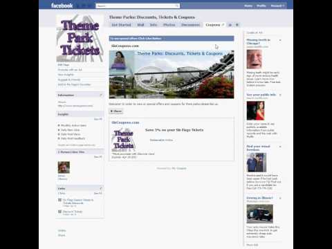 Setting the Default Landing Tab for a Facebook business page