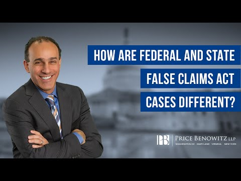 Federal Vs. State False Claims Act Cases | DC Whistleblower Lawyer Tony Munter