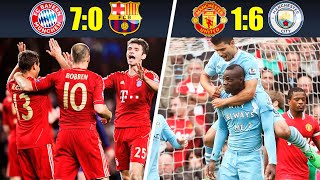 10 Most Humiliating Defeats In Matches Of Big Football Clubs • 2010s Decade