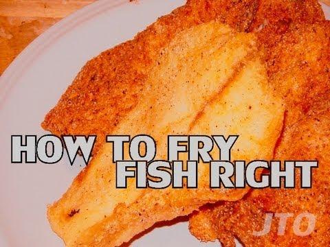 JTO #131 : HOW TO FRY FISH RIGHT - TILAPIA