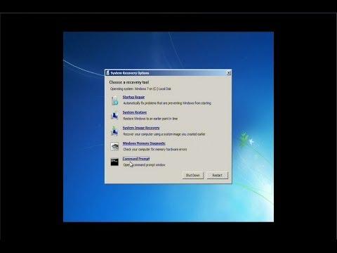 Windows 7 Repair Mode