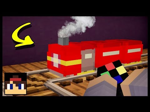 ✔ Minecraft: How To Make A Working Toy Train | No Mods Or Addons!