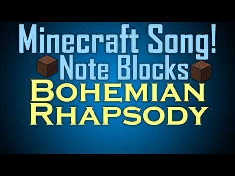 Minecraft Song Note Blocks (Bohemian Rhapsody)