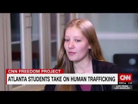 Atlanta teens helping end slavery