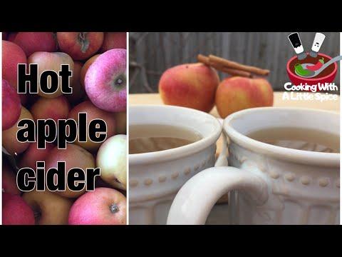 Hot Apple Cider / Spiced Cider | Crockpot Recipe