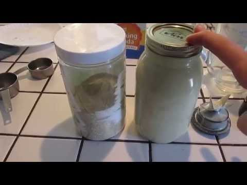 Liquid Laundry Soap- Homemade Natural Cleaning Products #10 1/2